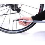 Aluminiowa pompka rowerowa WHEEL UP